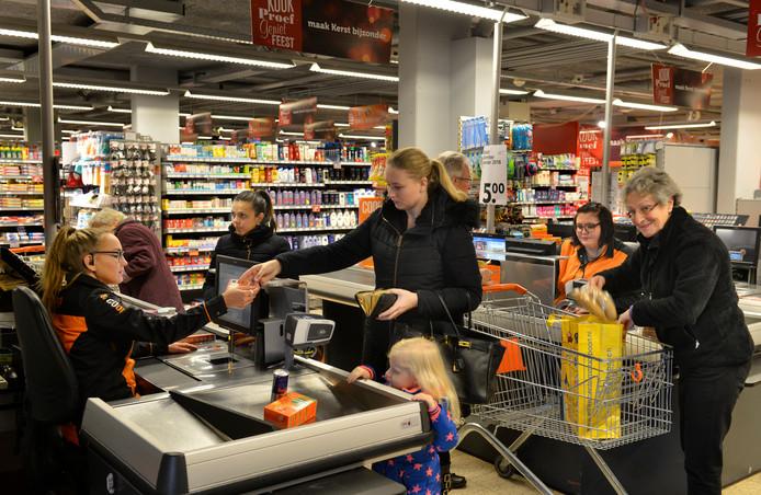 De Coop in Vianen is één van de supermarkten die al eerder open gaat op de zondag.