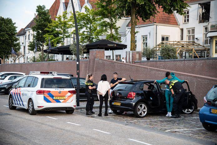 Een scanauto van de politie kan al langsrijdend controleren of kentekens voorkomen in de politiesystemen. Foto ter illustratie.