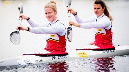 Hermien Peters en Lize Broekx eindigen in A-finale K2 500m als 4de en mogen naar Tokio