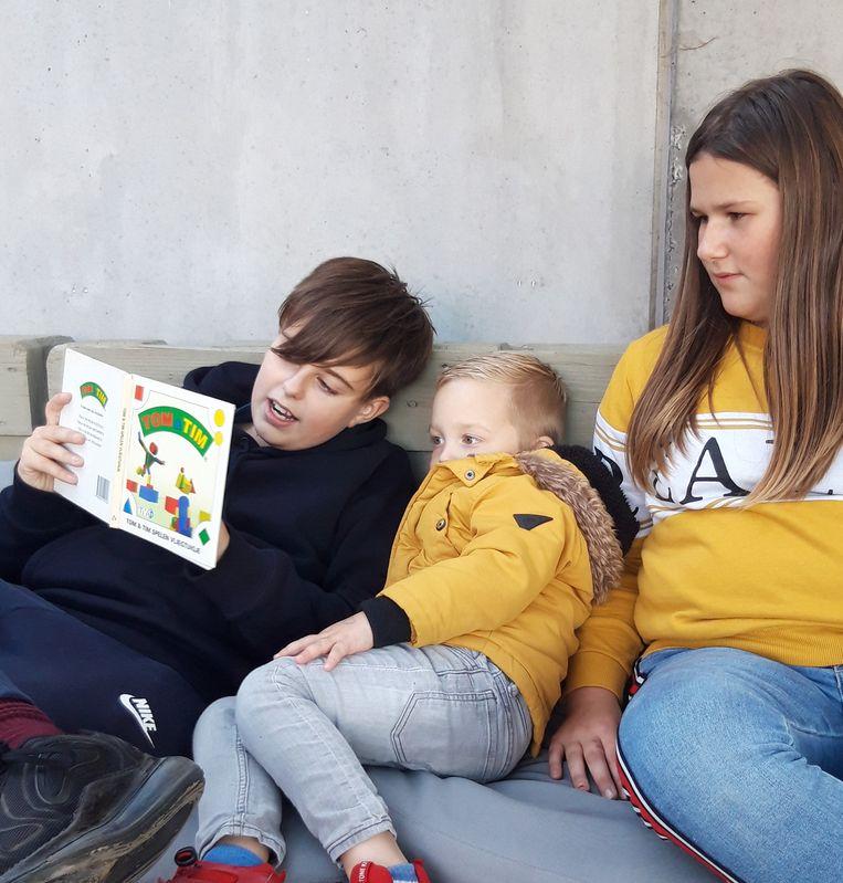 Lezen wordt prioriteit op de school in Oostwinkel.