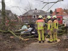 LIVE: Weeralarm beëindigd, alleen nog code rood voor Overijssel en Gelderland