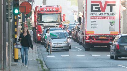 Leupegemstraat en brug over de Schelde in Oudenaarde tegelijk een week afgesloten