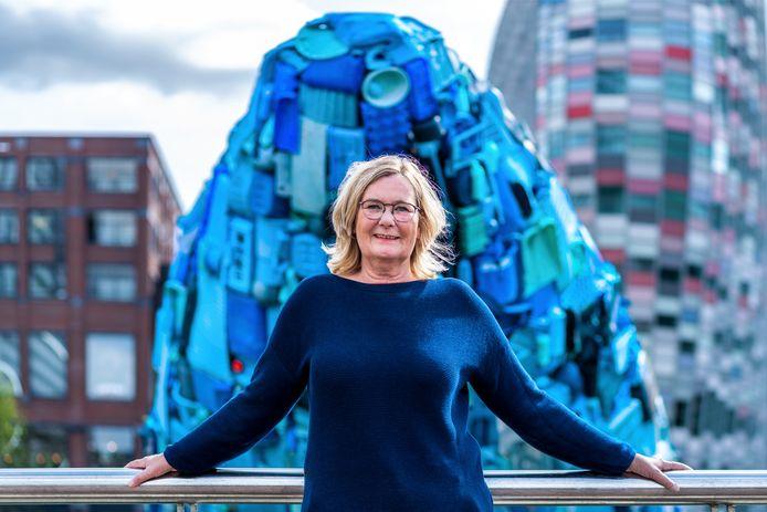 Prof. mr. Marleen van Rijswick haalde de walvis naar Utrecht.