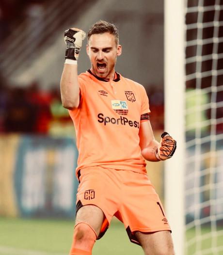 Ex-doelman FC Dordt Leeuwenburgh keept in 'droomland' opeens voor 60.000 man