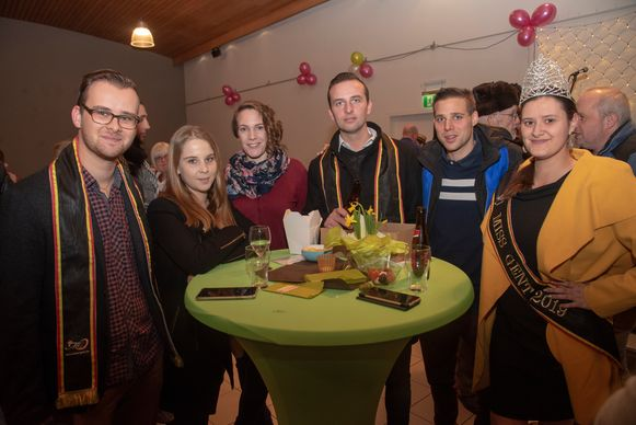 Nieuwjaarsreceptie Ledeberg : Kandidaten Mister Gent