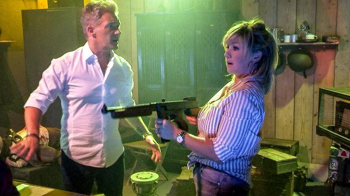 Christoff en Lindsay in 'Code Van Coppens'