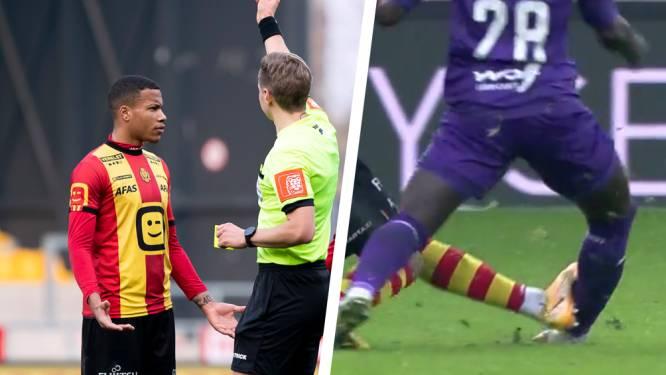 """Was de rode kaart voor Vranckx terecht? Frank De Bleeckere namens Referee Department: """"Ernstig gemeen spel"""""""