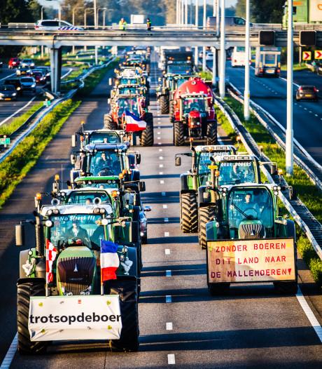 Boeren uit de Hoeksche Waard laten protest in Den Haag links liggen