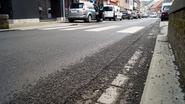 Nieuwe asfaltlaag al na drie maanden versleten