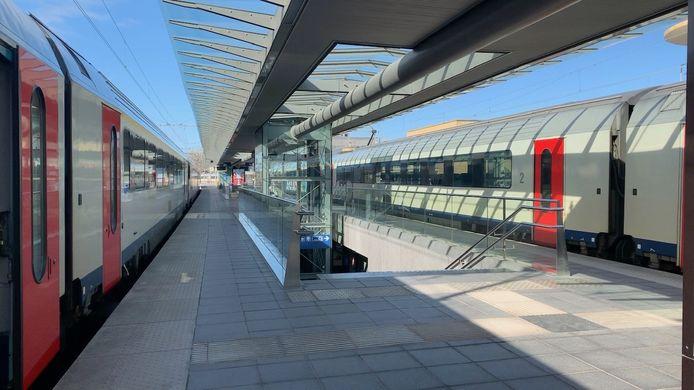 De feiten speelden zich af in het station van Brugge.