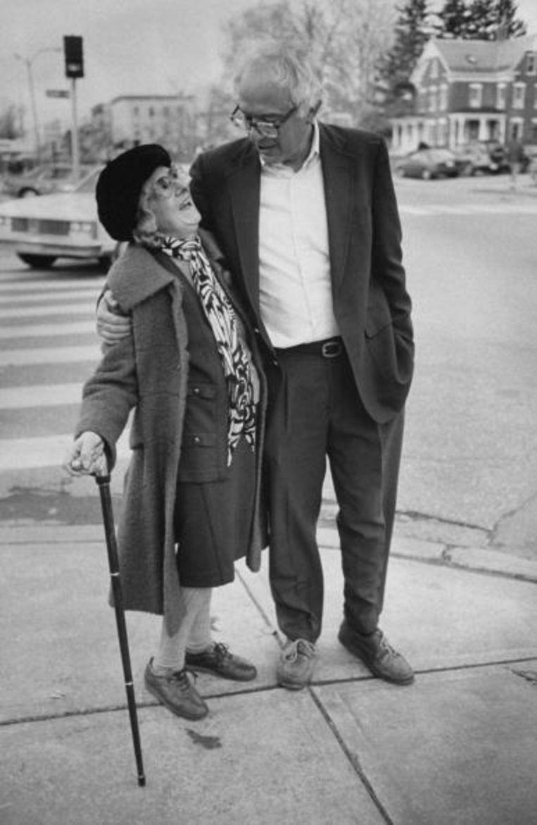 Bernie Sanders in Bulington in 1990. Beeld The LIFE Images Collection via G