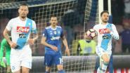 Mertens valt in en schiet tien tellen nadien (!) al raak maar grijpt met Napoli naast finale Coppa Italia