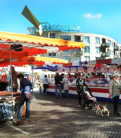 Op de weekmarkt in Vlissingen slaan de stoppen door