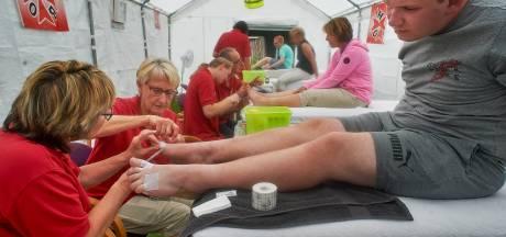 Vierdaagselopers weten verzorgingspost in Berghem weer goed te vinden