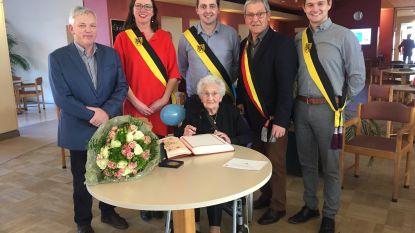 Maria Vanherck viert 100ste verjaardag