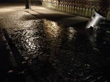 Angst voor 'sinkhole' door vernieling waterkraan
