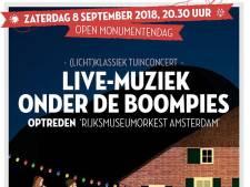 Rijksmuseumorkest in Rouveense boomgaard