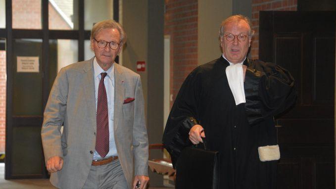 """Willy Naessens (78) voor rechter voor zware voet: """"Ik voel me niet te goed om zelf te komen"""""""