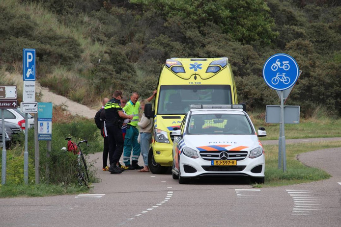 Er werd een ambulance opgeroepen voor het slachtoffer.