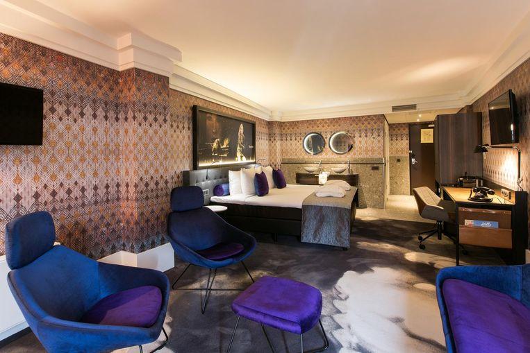 Een van de nieuwe kamers Beeld Eden Hotels