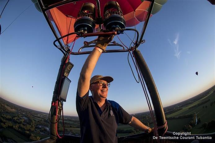 Ballonvlucht met ballonvaarder Frans van Dijk