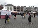 Het was zaterdag druk op de Bossche Markt.