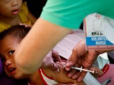 Al 136 doden door mazelen op Filipijnen