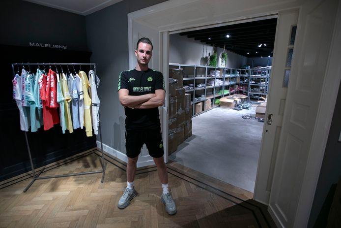 Thijs Offermeijer heeft met Malelions een showroom en magazijn in Veldhoven.