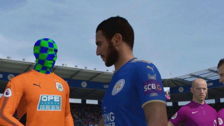 Deze speler heeft iets anders aan zijn hoofd. Beeld EA Sports