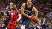 Weergaloze Doncic loodst Dallas voorbij Houston, Clippers en Nuggets blijven winnen
