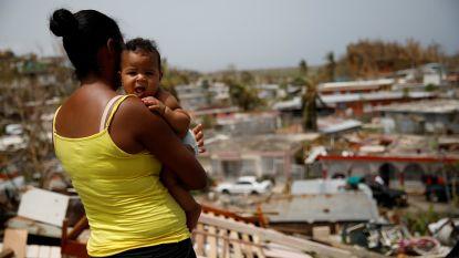Trump klopt zich op de borst over hulpverlening Puerto Rico, waar bijna 3.000 mensen stierven na orkaan