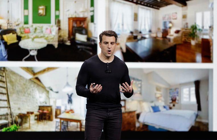 Brian Chesky, oprichter en CEO van Airbnb .