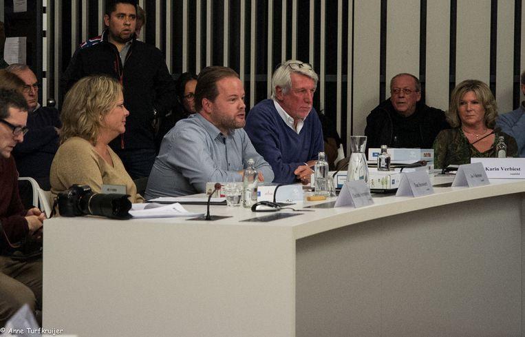 De vertegenwoordigers van h-Eerlijk Zoersel in de Zoerselse gemeenteraad.