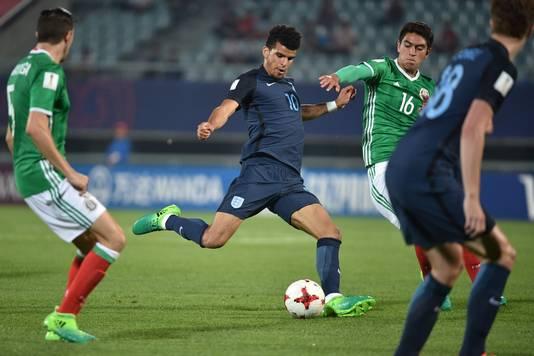 Dominic Solanke haalt uit tegen Mexico Onder-20.