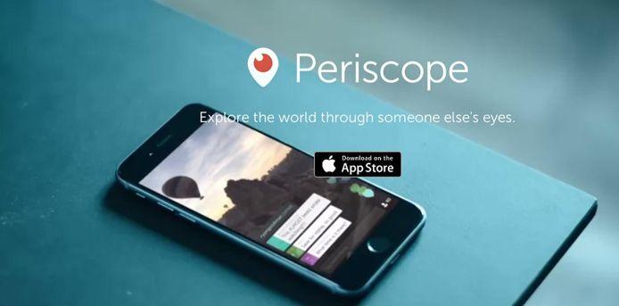 De basisfuncties van Periscope worden geïntegreerd in Twitter.