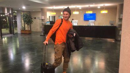 Bezus in Spanje aangekomen
