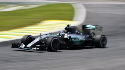 Rosberg pakt in Brazilië vijfde pole op rij