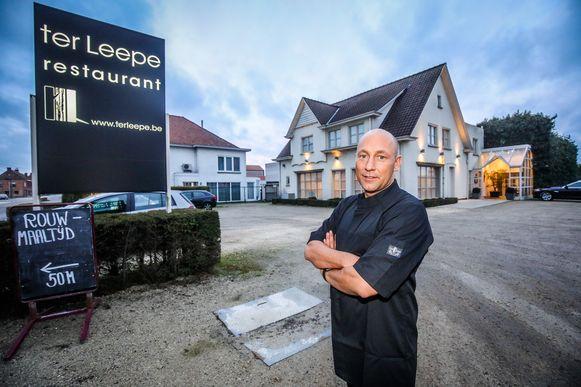 Kristof Marannes sluit op 30 oktober de deuren van restaurant Ter Leepe.