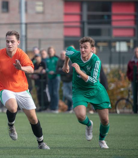 GVC wint topper tegen Veluwse Boys en gaat mee bovenaan