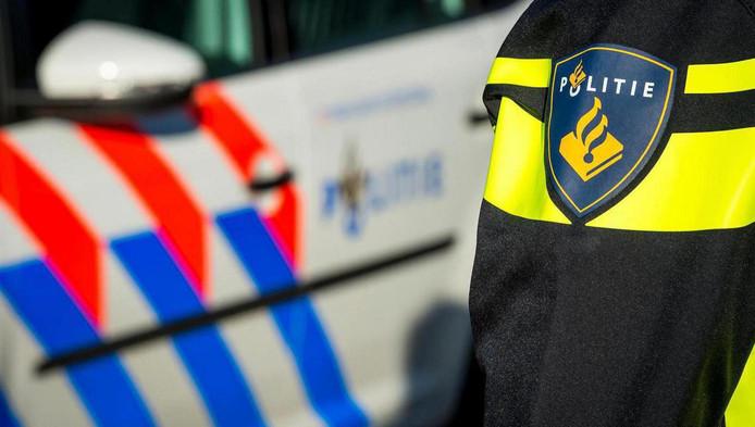 De politie vond de man op de Lijnbaansgracht