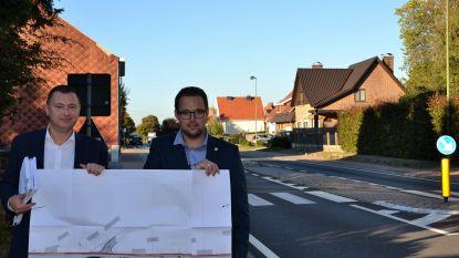 Glabbeek keurt plannen voor een veiligere Tiensesteenweg (N29) goed