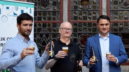 Biertje wordt gebrouwen met Leiewater