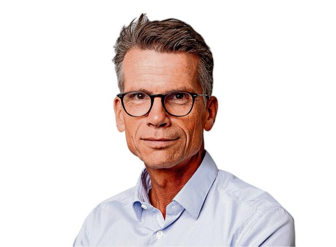 Hans Nijenhuis, hoofdredacteur van het AD