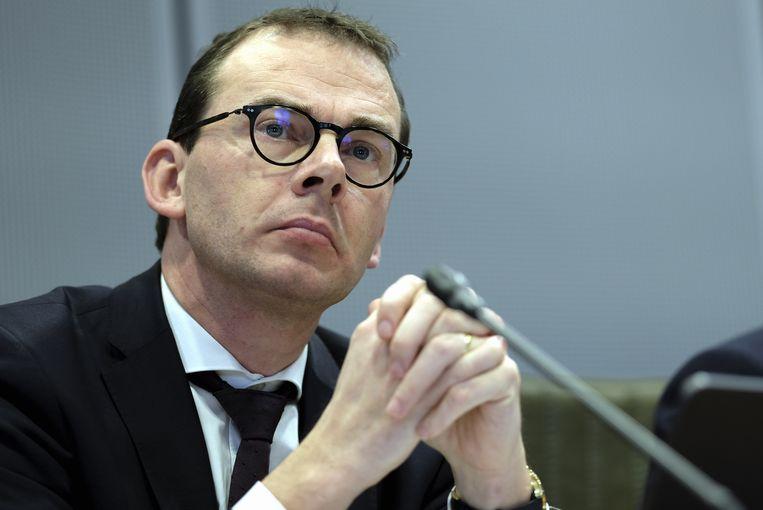 Minister van Welzijn Wouter Beke (CD&V) in het Vlaams Parlement te Brussel (07/01/2020).