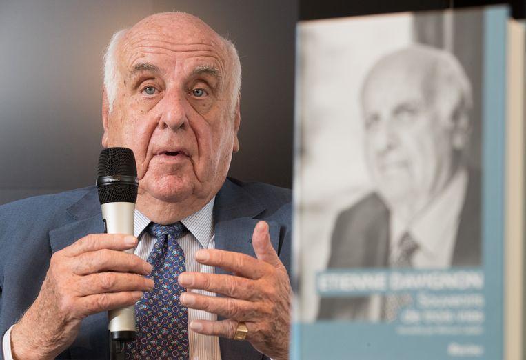 Graaf Etienne Davignon schreef samen met journalist Maroun Labaki een autobiografie.