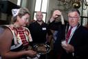 Burgemeester Hubert Bruls opent de 22e HaringParty.