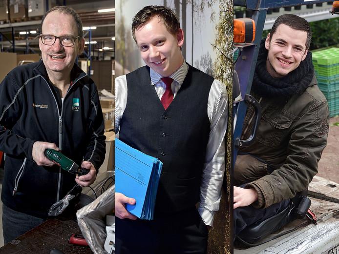 Tonny Soeters, Neil Schuurman en Jorg van Schijndel.