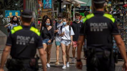 """Lijst met oranje zones breidt opnieuw uit: ook voor Catalonië en Aragon geldt nu """"verhoogde waakzaamheid"""""""