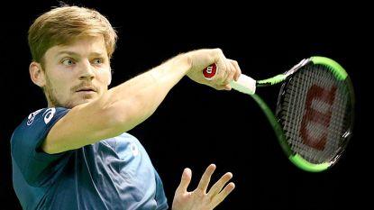 David Goffin kan in halve finales Rotterdam revanche nemen voor verloren Masters-finale