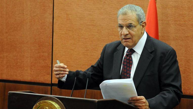 Ibrahim Mahlab, de nieuwe premier Beeld afp